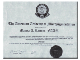 American Academy of Micropigmentation | Marcia Renner